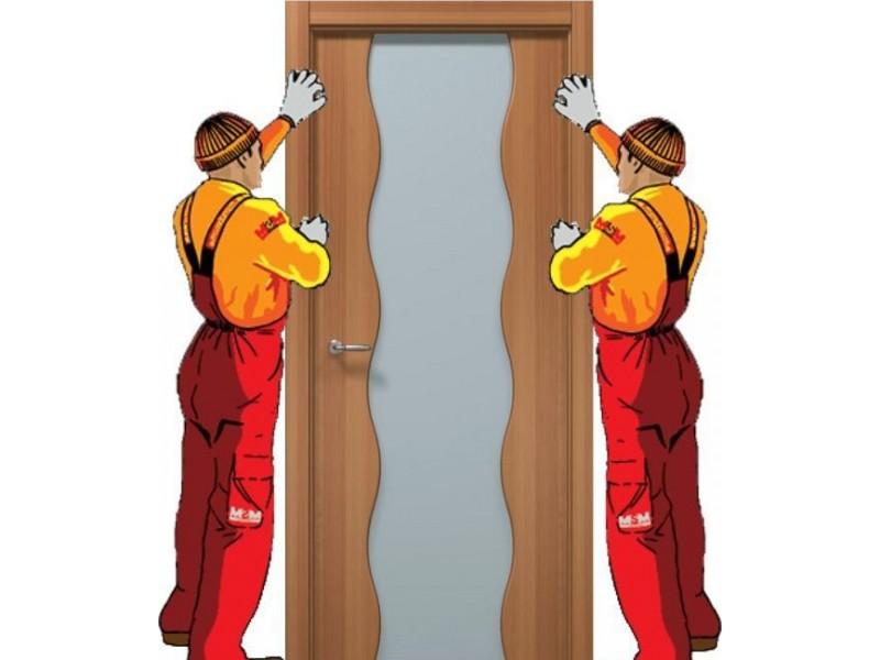 Установка Входной и Межкомнатной двери