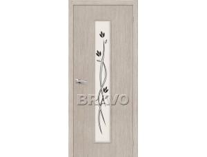 Дверь 3D-Graf Тренд-14 3D Cappuccino