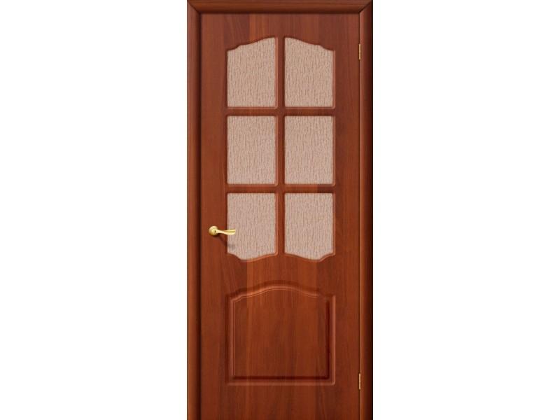 ПВХ Дверь Лидия С Итальянский орех