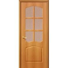 ПВХ Дверь Лидия С Миланский орех