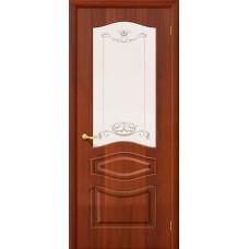 ПВХ Дверь Модена C Итальянский орех