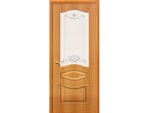 ПВХ Дверь Неаполь С Миланский орех