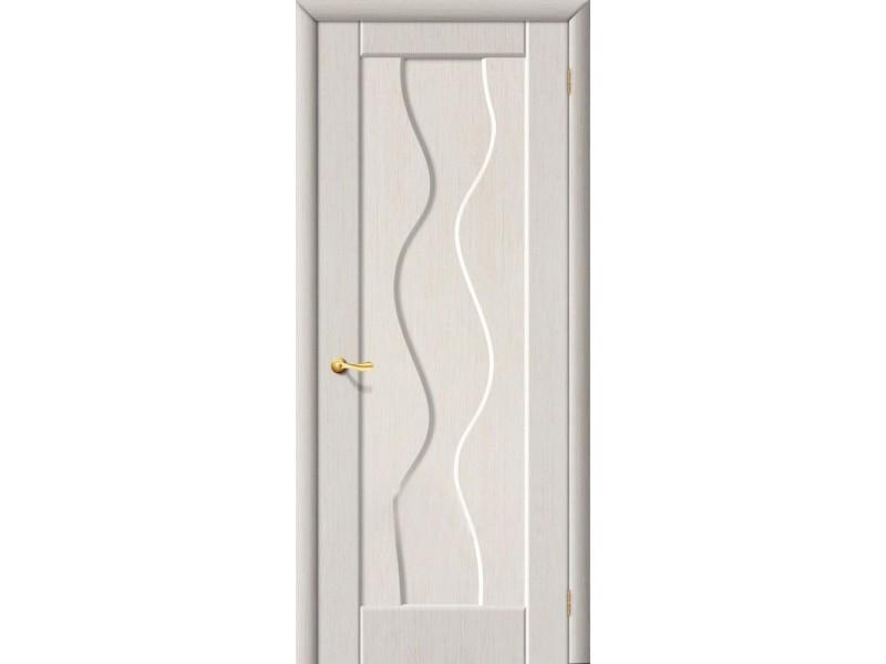 ПВХ Дверь Вираж Г Белый