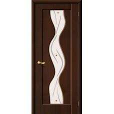 ПВХ Дверь Вираж С Венге