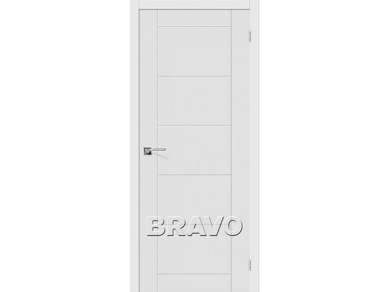 ПВХ Дверь Граффити-4  Белый