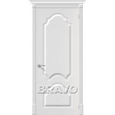 ПВХ Дверь Скинни-33  Белый