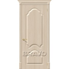 ПВХ Дверь Скинни-33  Белый Дуб