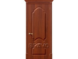 ПВХ Дверь Скинни-33 Итальянский Орех