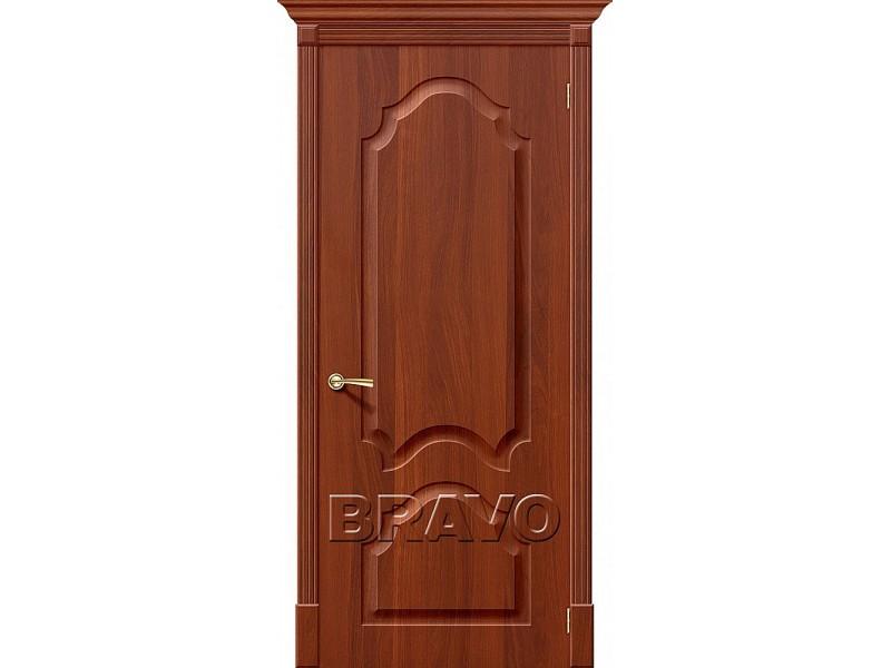 ПВХ Дверь Скинни-32 Итальянский Орех