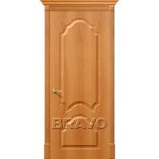 ПВХ Дверь Скинни-33 Миланский Орех