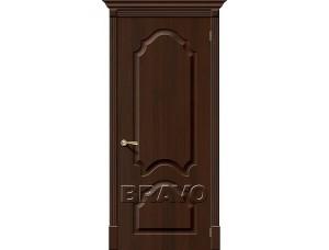 ПВХ Дверь Скинни-33  Венге