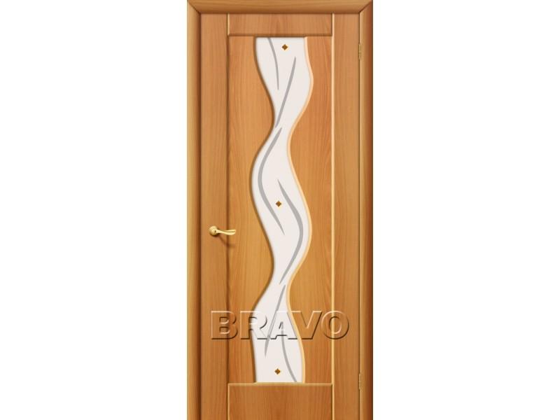 ПВХ Дверь Вираж плюс С Миланский орех