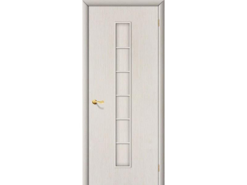 Ламинированная дверь 2 Г Белый дуб