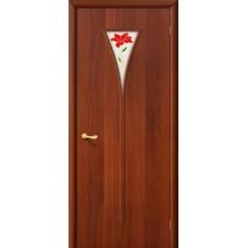 Ламинированная дверь 3 П Итальянский  орех