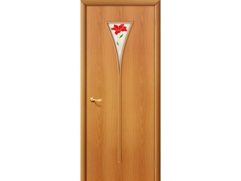 Ламинированная дверь 3 П  Миланский  орех