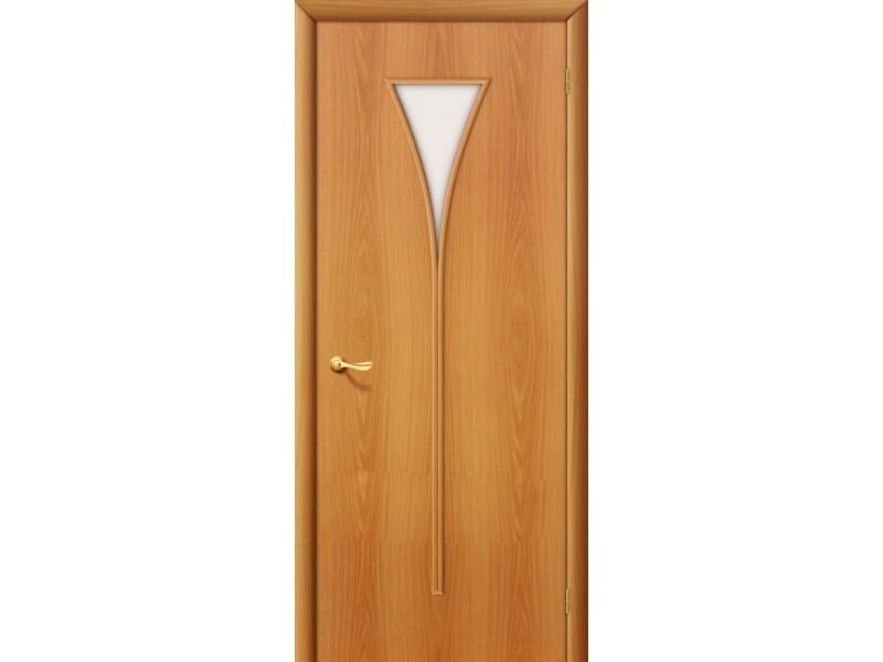 Ламинированная дверь 3 Х Миланский  орех