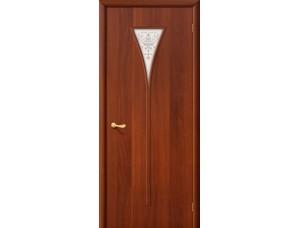 Ламинированная дверь 3 Х  Итальянский  орех