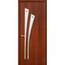 Ламинированная дверь 4 Ф  Итальянский орех