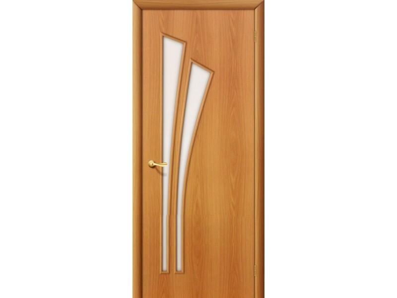 Ламинированная дверь 4 С Миланский орех