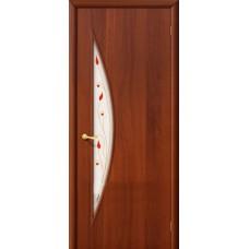 Ламинированная дверь 5 П Итальянский орех