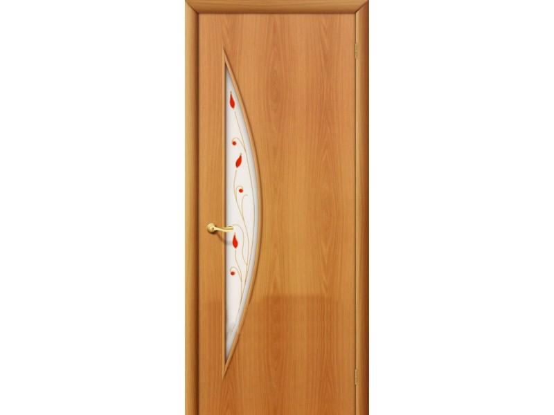 Ламинированная дверь 5 П Миланский орех