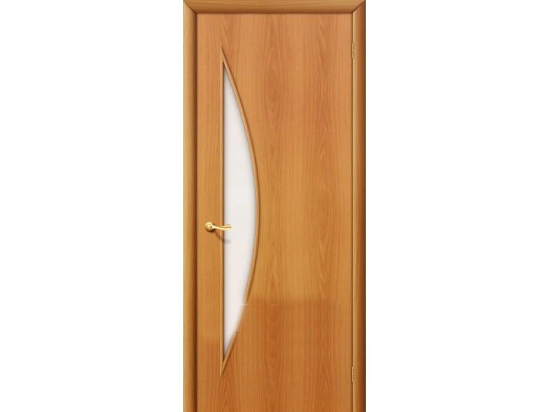 Ламинированная дверь 5 С  Миланский орех