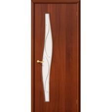 Ламинированная дверь 6 Ф Итальянский орех
