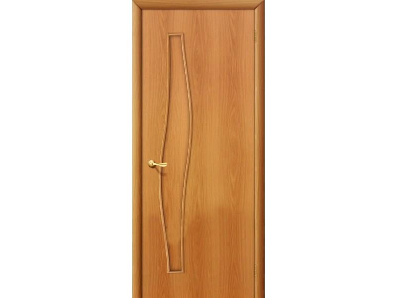 Ламинированная дверь 6 Г Миланский орех