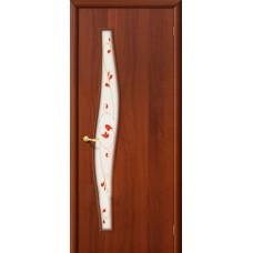 Ламинированная дверь 6 П Итальянский орех
