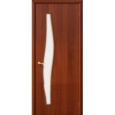 Ламинированная дверь 6 С Итальянский орех