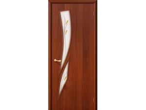 Ламинированная дверь 8 Ф Итальянский орех