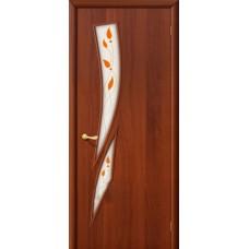 Ламинированная дверь 8 П Итальянский орех
