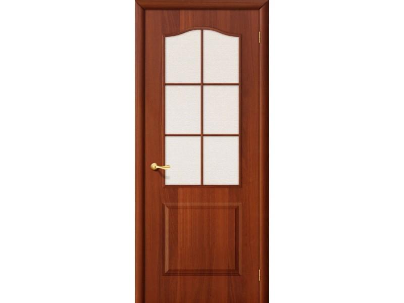 Ламинированная дверь Палитра С Итальянский орех