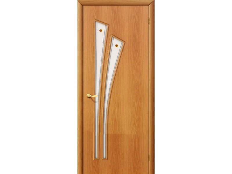 Ламинированная дверь 4 Ф Миланский орех