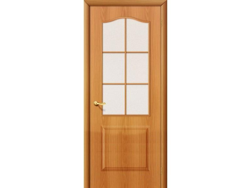 Ламинированная дверь Палитра С  Миланский орех