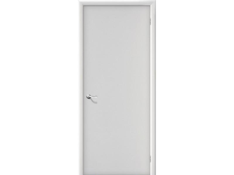 Ламинированная дверь Гост Белый