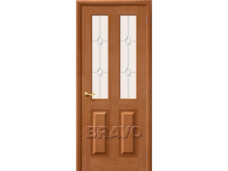 Двери из Массива  М15 С Светлый Лак