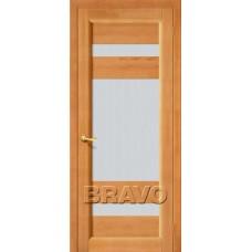 Двери из Массива Вега 2 ПО Т 30 ( Светлый орех)