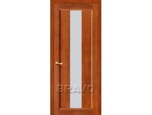 Двери из Массива Вега-18 С  Т-31  (Темный лак)