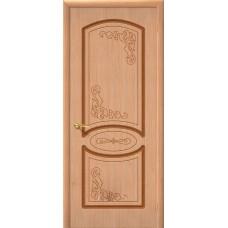 Дверь Шпон фан-лайн Азалия Г Дуб