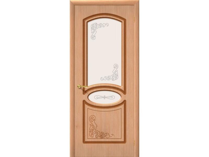 Дверь Шпон фан-лайн Азалия С Дуб