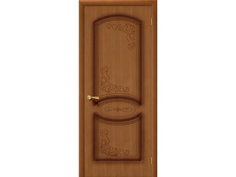 Дверь Шпон фан-лайн Азалия Г Орех