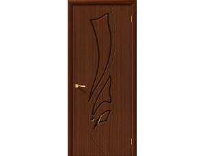 Дверь Шпон фан-лайн Эксклюзив Ф-17 (Шоколад)