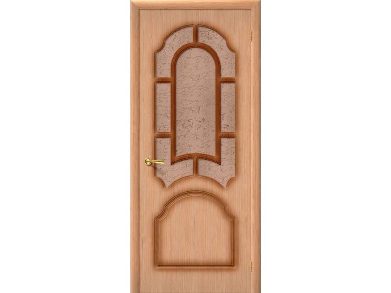 Дверь Шпон фан-лайн Соната С Ф-01 Дуб