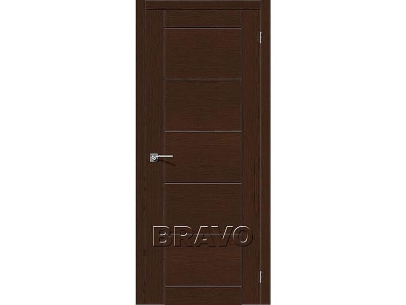 Дверь Шпон фан-лайн Граффити-4 Ф-27 (Венге)