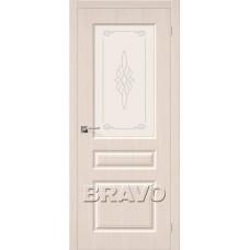 Дверь Шпон фан-лайн Статус-15 С (БелДуб)