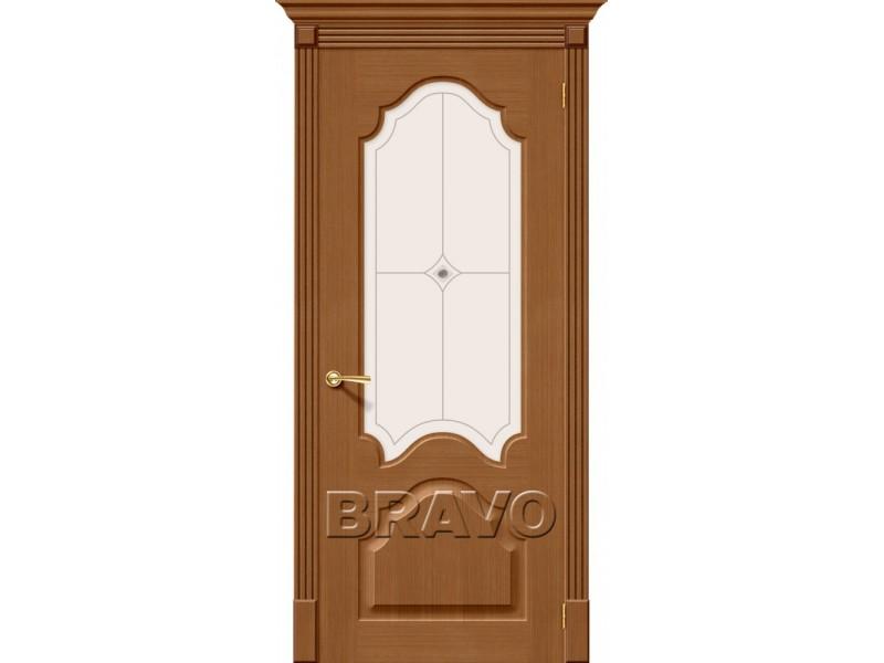 Дверь Шпон фан-лайн Афина С Ф-11(Орех)