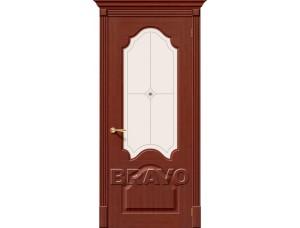 Дверь Шпон фан-лайн Афина С Ф-15 (Макоре)