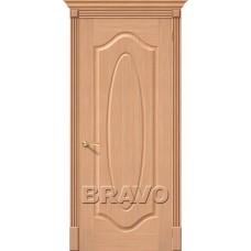 Дверь Шпон фан-лайн Аура Ф-01 (Дуб)
