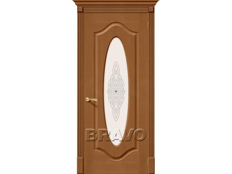 Дверь Шпон фан-лайн Аура С Ф-11(Орех)